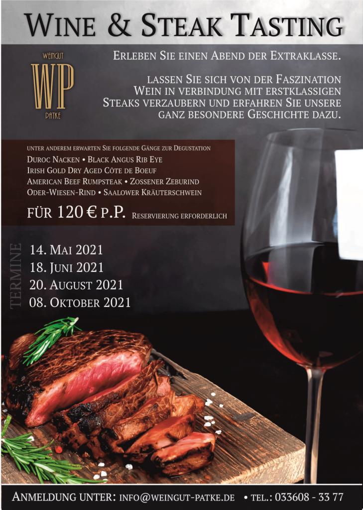 Wine & Steak 2021